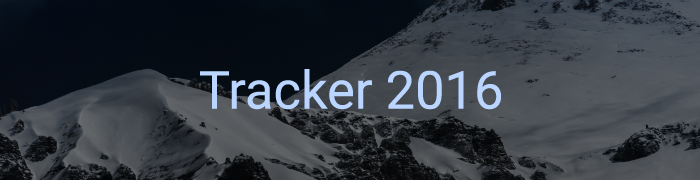 Tracker 2016 - New Features