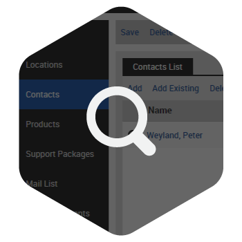 Customer and Contact Searches